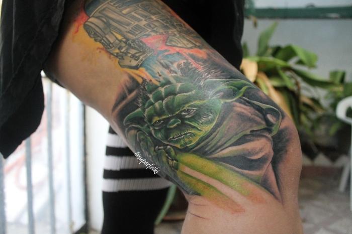tatuajeyodarealistastarwars
